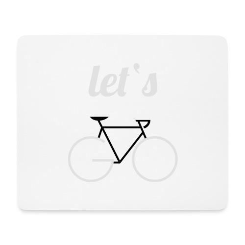 Let's GO - Mousepad (Querformat)
