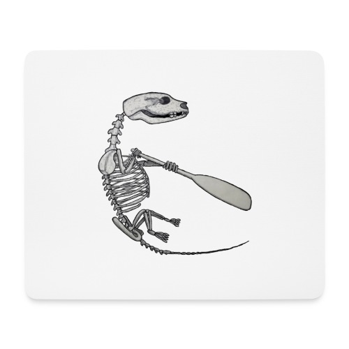 Skeleton Quentin - Mouse Pad (horizontal)