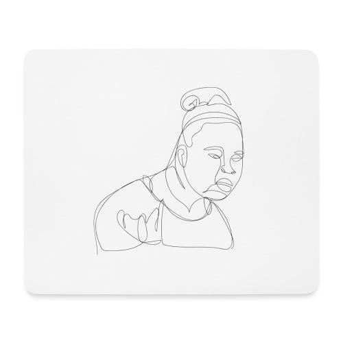 DAFUQ BLACKLINE - Mousepad (Querformat)