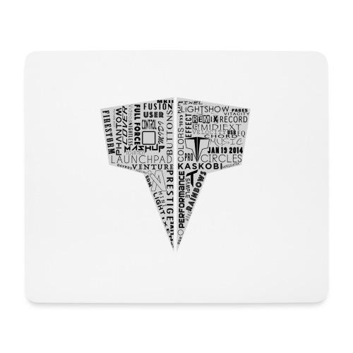 Word Logo // Kaskobi - Mouse Pad (horizontal)