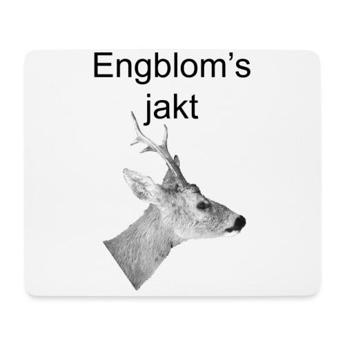 Officiell logo by Engbloms jakt - Musmatta (liggande format)