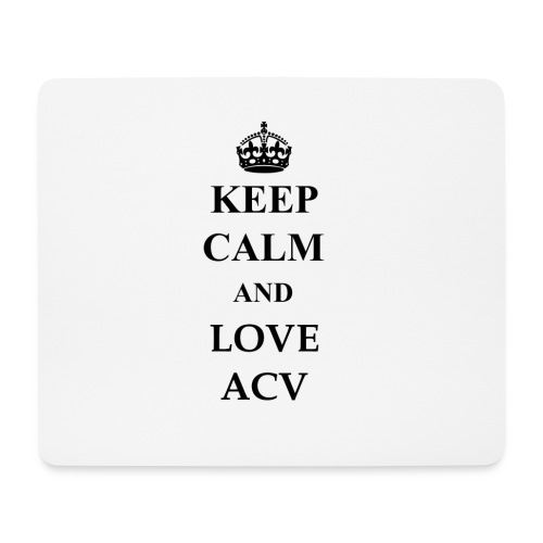 Keep Calm and Love ACV - Mousepad (Querformat)
