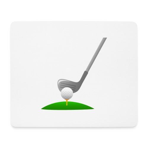 Golf Ball PNG - Alfombrilla de ratón (horizontal)