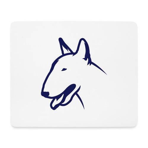 Bullterrier BULLY HEAD 1c_4light - Mousepad (Querformat)