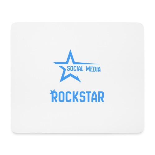 Social Media Rockst*r - Mousepad (Querformat)