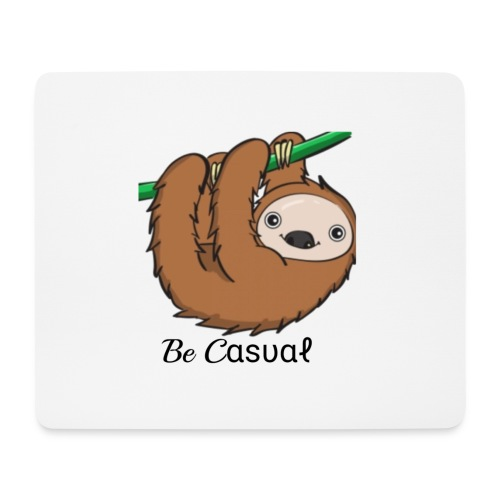 Be-Casual - Mousepad (Querformat)