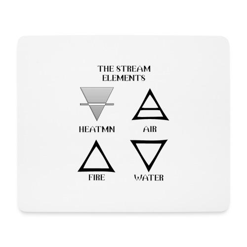 Heatmn Streamelements - Tapis de souris (format paysage)
