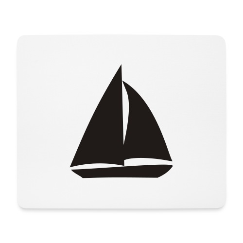 Segelyacht - Mousepad (Querformat)