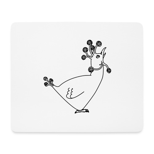 Cosmic Chicken - Mouse Pad (horizontal)