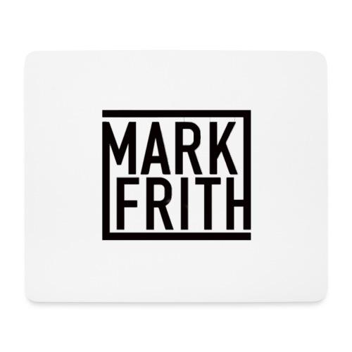MARK FRITH Logo BLACK - Mouse Pad (horizontal)