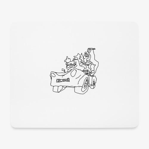 gova dinos - Tapis de souris (format paysage)