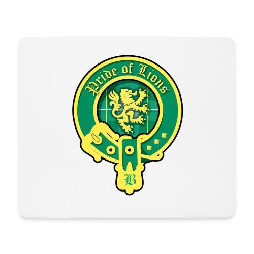 pride of lions logo - Mousepad (Querformat)