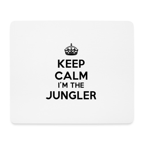 Keep calm I'm the Jungler - Tapis de souris (format paysage)