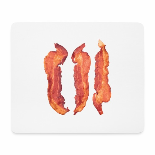 Bacon Strips - Tappetino per mouse (orizzontale)