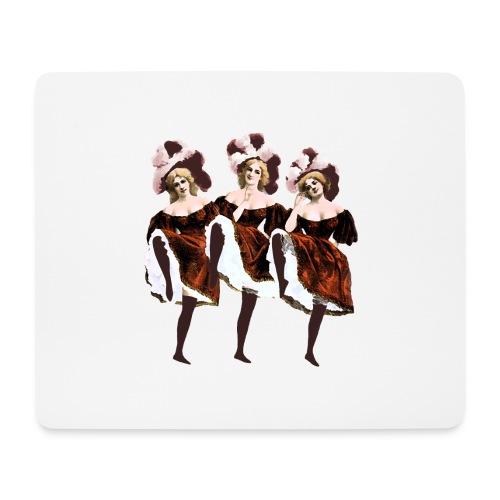 Vintage Dancers - Mouse Pad (horizontal)