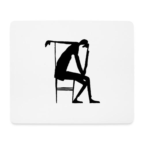 Franz Kafka - Der Denker - Mousepad (Querformat)
