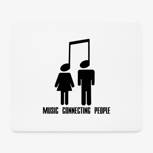 Music Connecting People - Mousepad (Querformat)