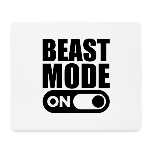 BEAST MODE ON - Mouse Pad (horizontal)