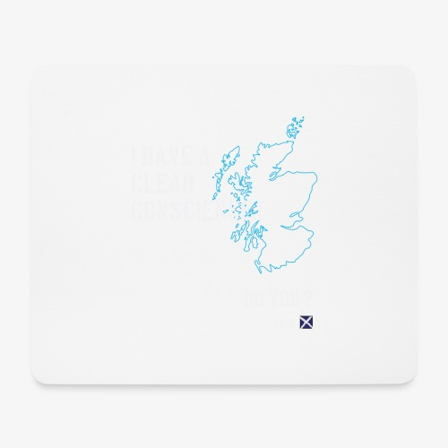 Clear Conscience - Mouse Pad (horizontal)