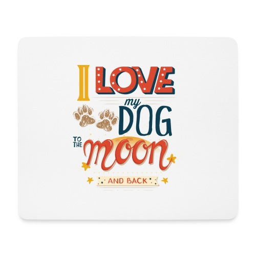 Moon Dog Light - Musmatta (liggande format)