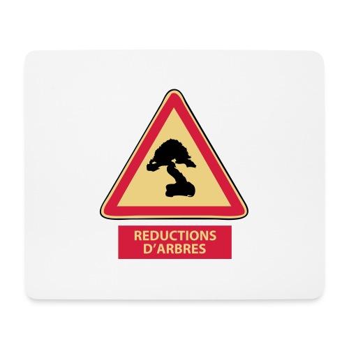 panneau reductions d'arbres - Tapis de souris (format paysage)