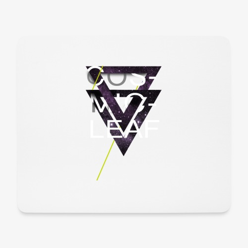 Cosmicleaf Triangles - Mouse Pad (horizontal)