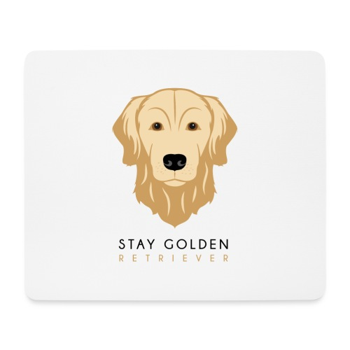 Golden Retriever - Dark - Tappetino per mouse (orizzontale)