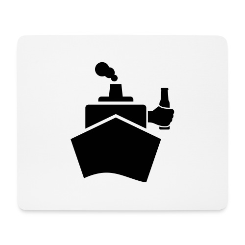 King of the boat - Mousepad (Querformat)