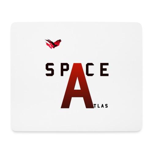 Space Atlas Baseball Long Sleeve Capital A - Mousepad (bredformat)