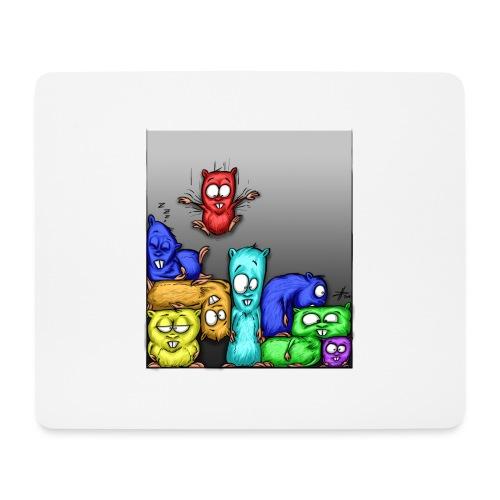 hamstris_farbe - Mousepad (Querformat)