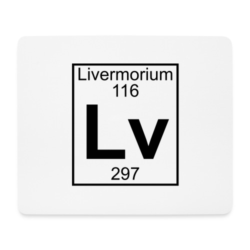 Livermorium (Lv) (element 116) - Mouse Pad (horizontal)