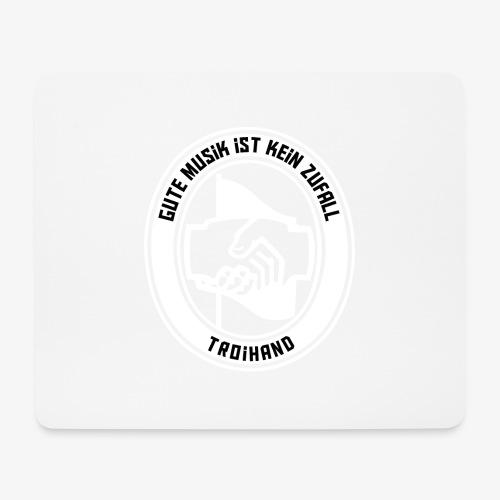 Logo Troihand invertiert - Mousepad (Querformat)