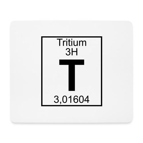 T (tritium) - Element 3H - pfll - Mouse Pad (horizontal)