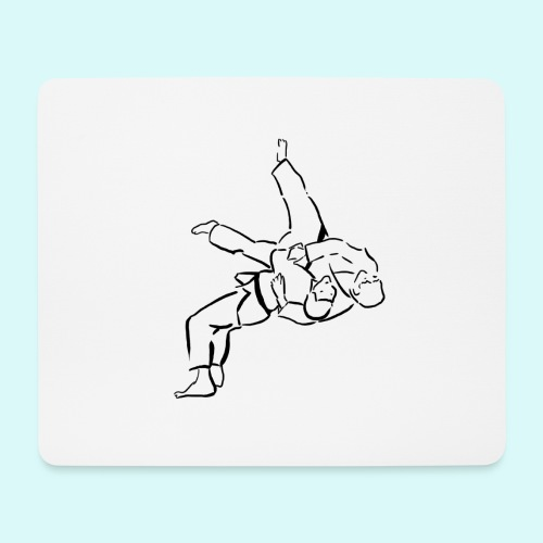 judo - Tapis de souris (format paysage)