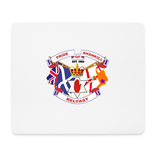 Pride of Shankill - Mouse Pad (horizontal)