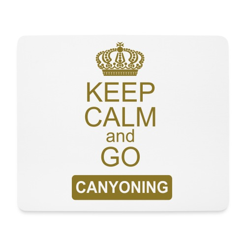 keep calm and go canyoning 2 - Mousepad (Querformat)