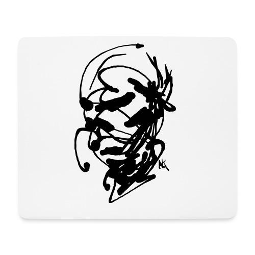 face - Mouse Pad (horizontal)