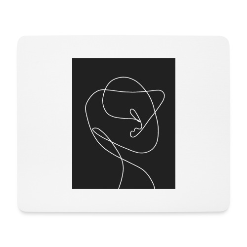TWO IN ONE - Mousepad (Querformat)