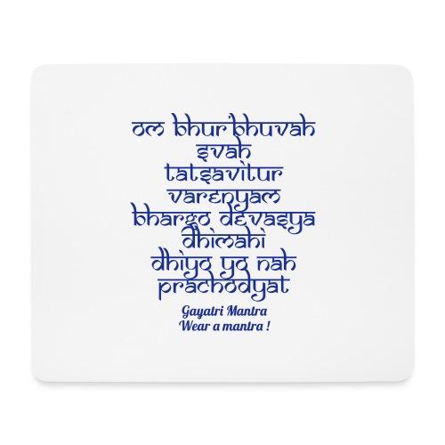 OM Bhur Bhuva Svaha - Tappetino per mouse (orizzontale)
