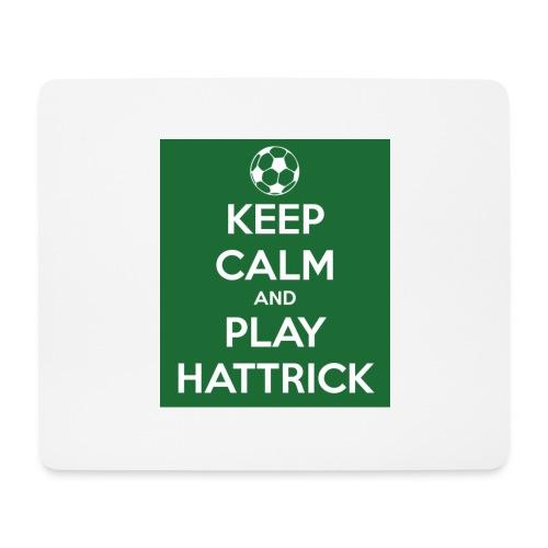 keep calm and play hattrick - Tappetino per mouse (orizzontale)