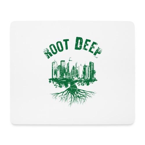 Root deep Urban grün - Mousepad (Querformat)
