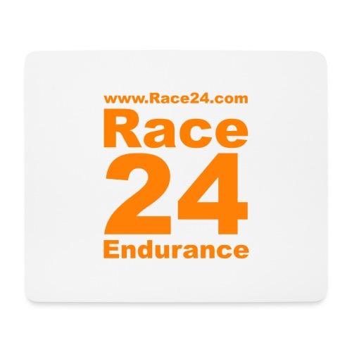 Race24 Logo in Orange - Mouse Pad (horizontal)