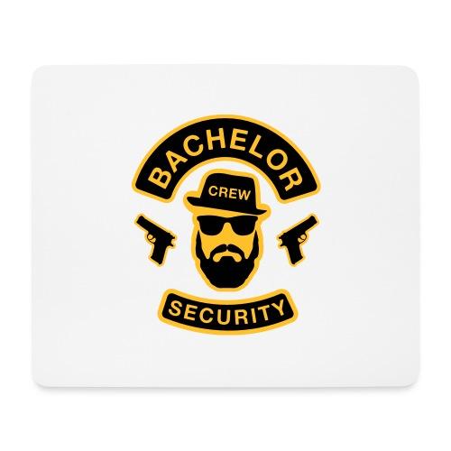 Bachelor Security - JGA T-Shirt - Bräutigam Shirt - Mousepad (Querformat)