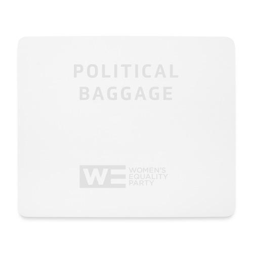 Political Baggage - Mouse Pad (horizontal)