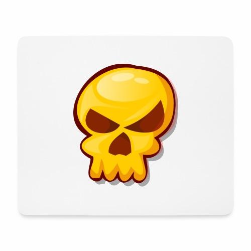 Golden Skull - Alfombrilla de ratón (horizontal)