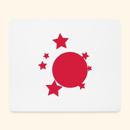 planeta i gwiazdy - Podkładka pod myszkę (orientacja pozioma)