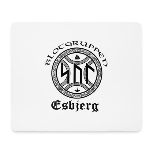 Asatro Blòtgruppen Sol Esbjerg - Mousepad (bredformat)