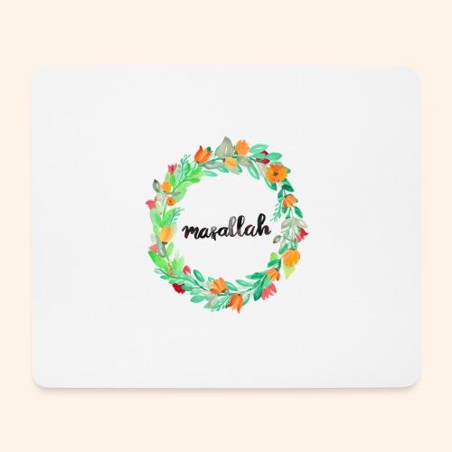 Ein Kranz aus Masallah - Mousepad (Querformat)