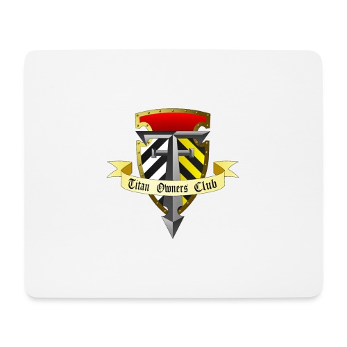 TOC Gothic Clear Background 1 - Mouse Pad (horizontal)