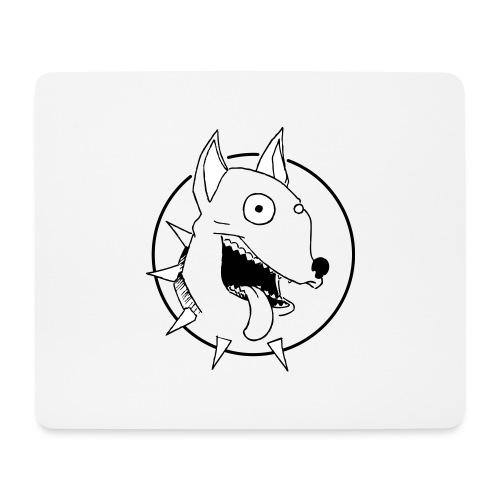 chien fou - Tapis de souris (format paysage)